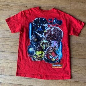 Angry Birds boys T-shirt size 8
